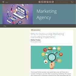 Why Is Outsourcing Marketing Consulting Important? - Marketing Agency : powered by Doodlekit