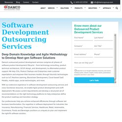 Outsourcing Software Development Services, Outsourced Product Development
