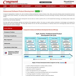 Look For Outsourced Software Product Development by Congruent
