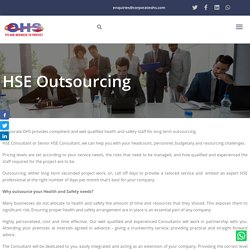 Health and Safety Long Term Outsourcing UAE