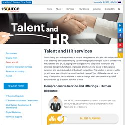 HR Outsourcing Service Providers