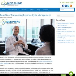 Benefits of Outsourcing Revenue Cycle Management