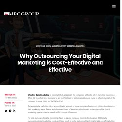 Why Outsourcing Your Digital Marketing is Cost-Effective and Effective