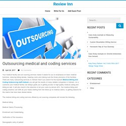Outsourcing medical and coding services