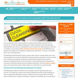 Data Cleansing Outsourcing Company