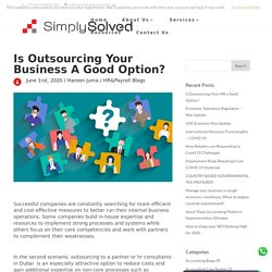 Is Outsourcing Your HR a Good Option? - Simply Solved