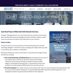 IT Outsourcing St. Louis