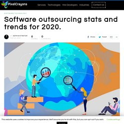 Software outsourcing stats and trends for 2020- PixelCaryons