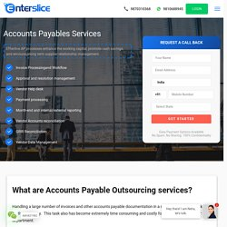 Accounts Payable Outsourcing Services and Processing