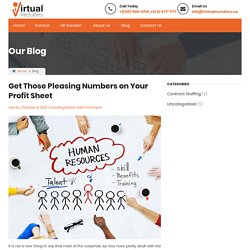 Opt Human Resource Outsourcing Services & Reduce your Expenses - Virtual Recruiters