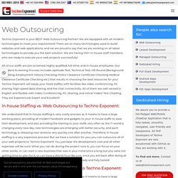 Web Outsourcing Services at a low cost, $7/ hour