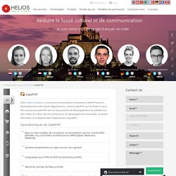 Développement CakePHP Agence