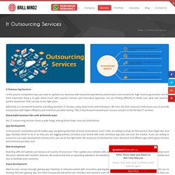 Outsourcing App Development Companies- Brill Mindz Technologies