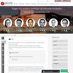 Outsourcing PHP Utvikling