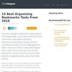 15 Outstanding Tools to Collect, Organize and Share Your Web Experience