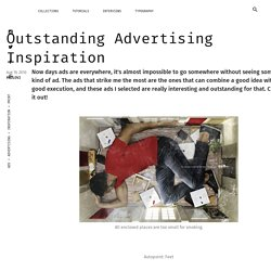Outstanding Advertising Inspiration