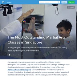 The Most Outstanding Martial Arts Classes in Singapore (with image) · cadreacademy