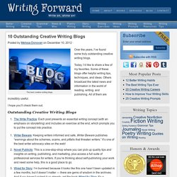 10 Outstanding Creative Writing Blogs