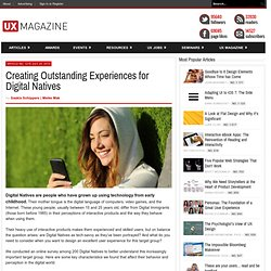 Creating Outstanding Experiences for Digital Natives