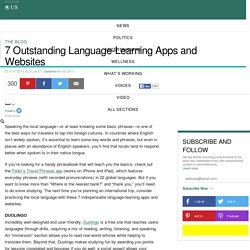 7 Outstanding Language-Learning Apps and Websites