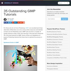35 Outstanding GIMP Tutorials