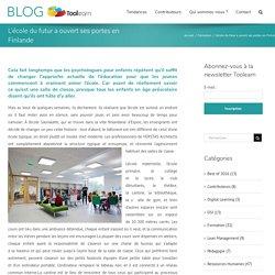 L'école du futur a ouvert ses portes en Finlande – Blog Toolearn