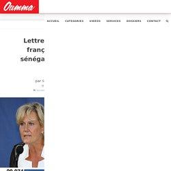 Lettre ouverte d'un français d'origine sénégalaise à Nadine Morano