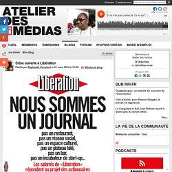Crise ouverte à Libération