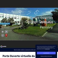 Porte Ouverte virtuelle du collège Germain Pensivy by Baron on Genially