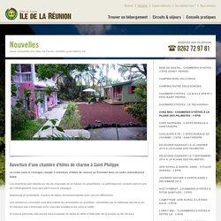 Ouverture d'une chambre d'hôtes de charme à Saint-Philippe - Gîtes de France Réunion