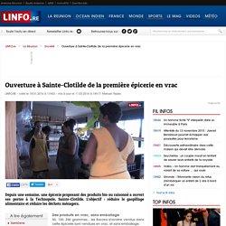 Ouverture à Sainte-Clotilde de la première épicerie en vrac