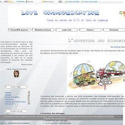 L'ouverture des économies - Love Communication : Cours BTS Gratuit
