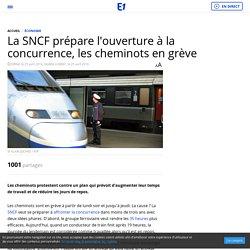 La SNCF prépare l'ouverture à la concurrence, les cheminots en grève