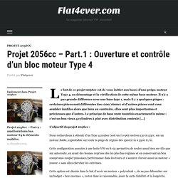 Projet 2056cc - Part.1 : Ouverture et contrôle d'un bloc moteur Type 4 - Flat4ever.com