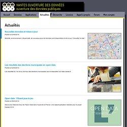 ouverture des données: Hackathon Open Data