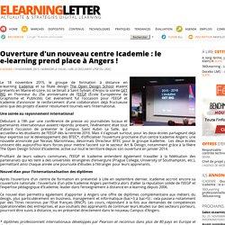 Ouverture d'un nouveau centre Icademie à Angers !