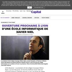 Ouverture prochaine à Lyon d'une école informatique de Xavier Niel