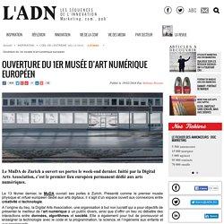 Ouverture du 1er musée d'art numérique européen - L'ŒIL DE L'EXTREME
