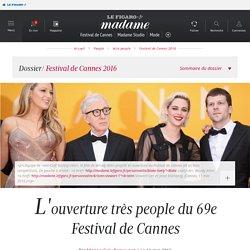 L'ouverture très people du 69e Festival de Cannes