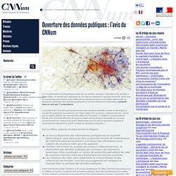 Ouverture des données publiques : l'avis du CNNum