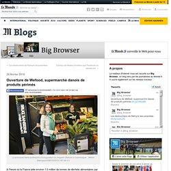 Ouverture de Wefood, supermarché danois de produits périmés