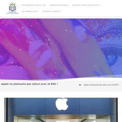 Apple ne plaisante pas (plus) avec la RSE ! - Ouvertures Communication