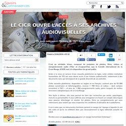Le CICR ouvre l'accès à ses archives audiovisuelles