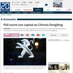 PSA confirme un projet de renflouement par Dongfeng et l'Etat pour 3 milliards d'euros