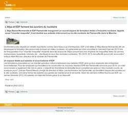 L'Afpa et EDF forment les ouvriers du nucléaire - Actualité de l'emploi sur NordJob