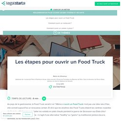 Food Truck: comment ouvrir un restaurant mobile