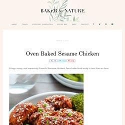 Oven Baked Sesame Chicken