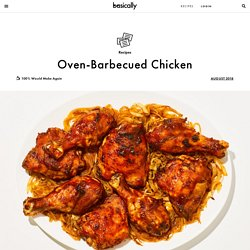 Oven-Barbecued Chicken Recipe
