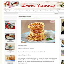 Oven-Fried Onion Rings & Recipe & Zoom Yummy