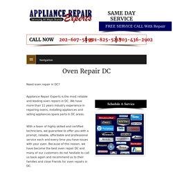 Oven Repair DC